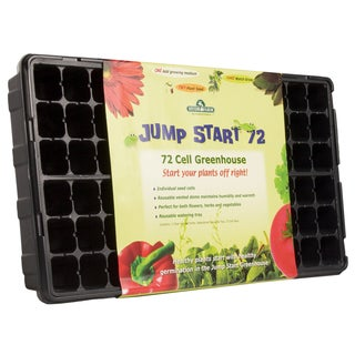 Hydrofarm JS72CG 72 Cell Jumpstart Greenhouse