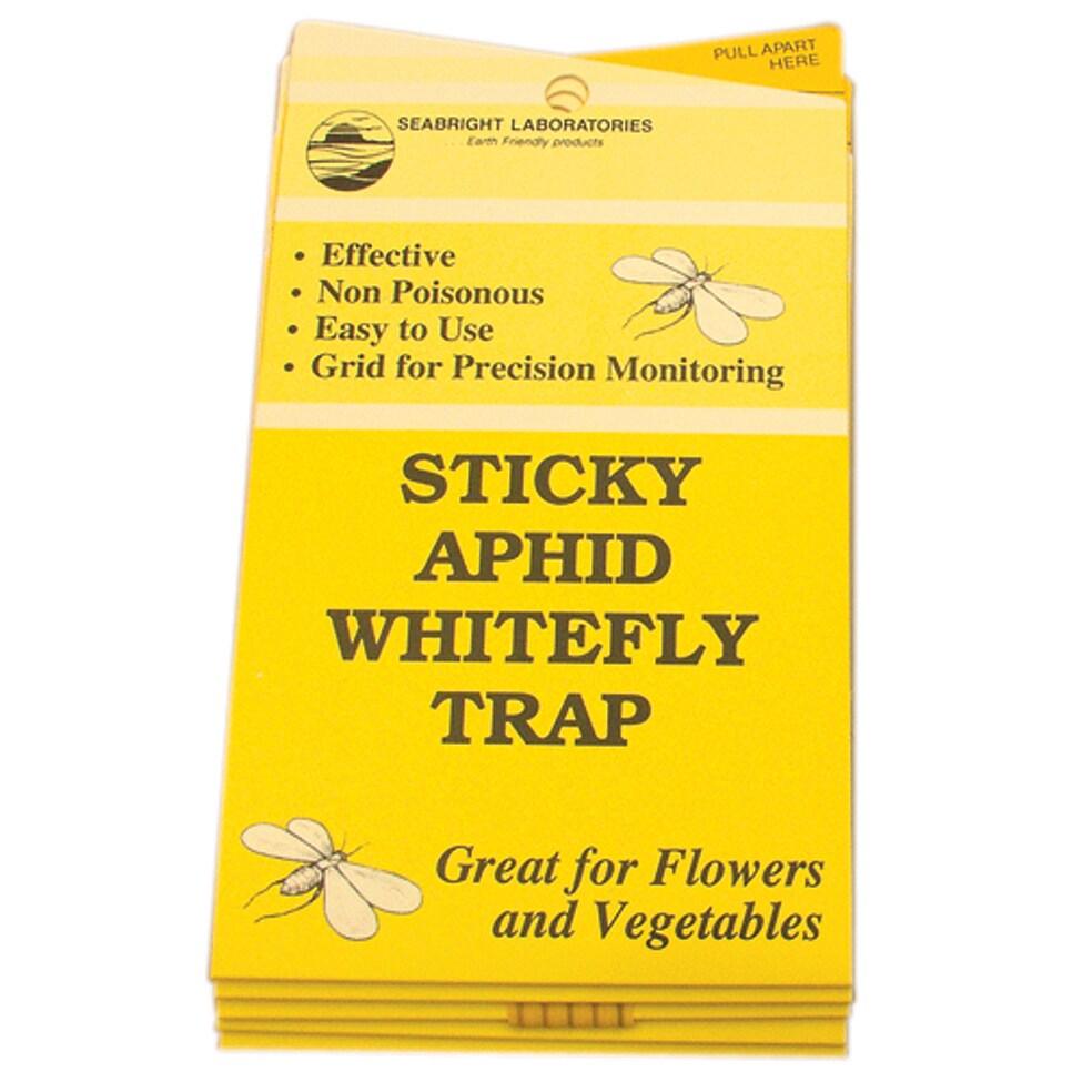 Hydrofarm Hgslwft 5-count Sticky White Fly Trap (Hydropon...