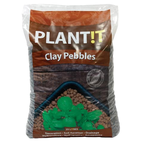 Hydrofarm GMC25L 8MM To 16MM 25 Liters Clay Pebbles