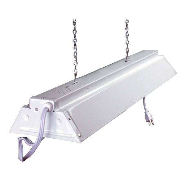 Shop Hydrofarm FLV42 4-feet White Hanging Shop Light