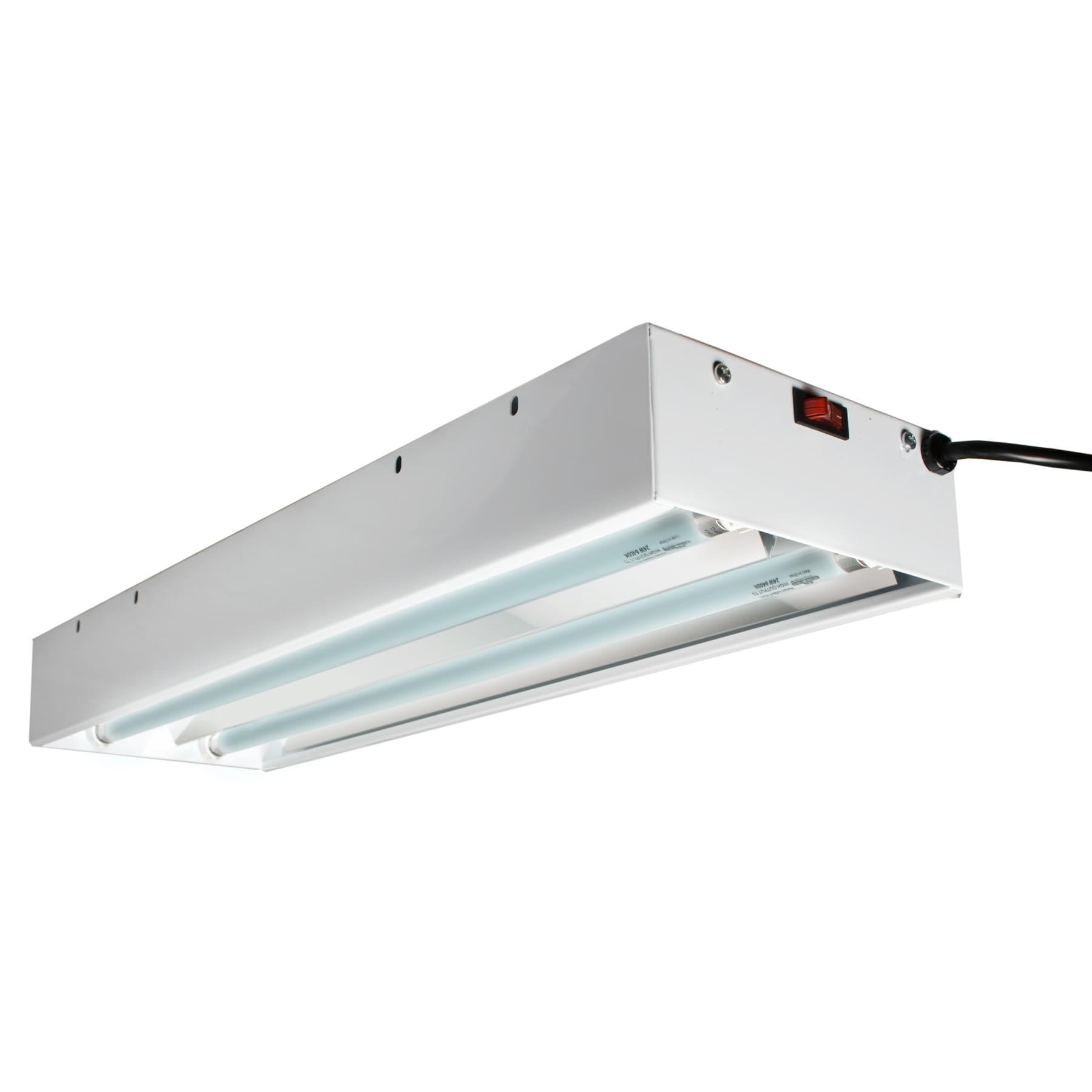 Hydrofarm flt22 two tube t5 fluorescent light system