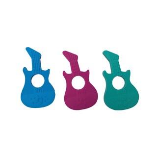SillyMunk Guitar Silicone Teething Pendant
