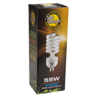 Sun Blaster 0900159 55 Watt CFL Light Bulb