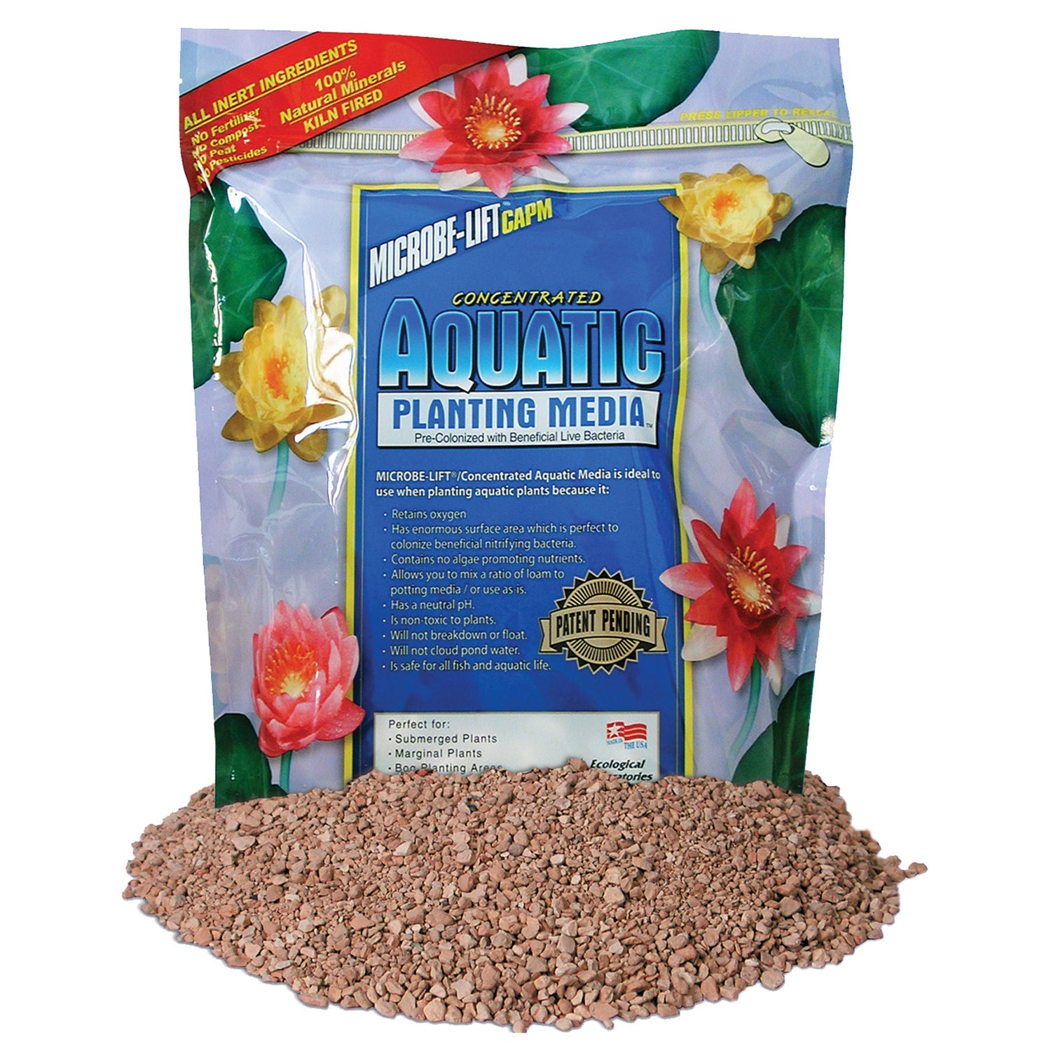 Microbe-Lift MLCAPM10 10 Lb Concentrated Aquatic Planting...