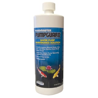 Pondmaster 03907 32-ounce PumpGuard Water Pump Maintenance Solution
