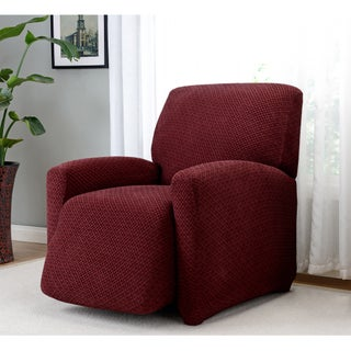Sanctuary Galway Large Recliner Stretch Slipcover (Option: Burgundy)