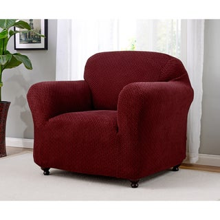 Galway and Spandex Stretch Chair Slipcover