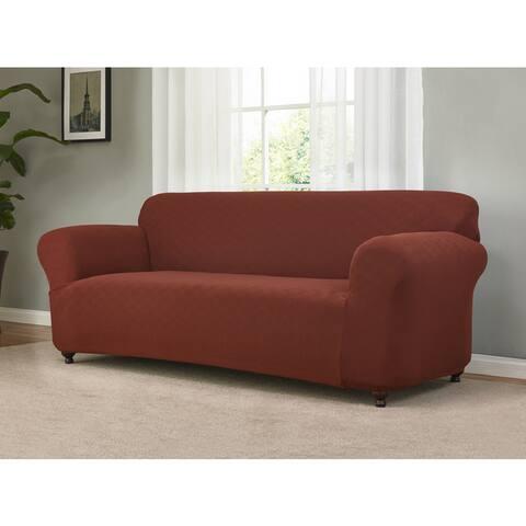 Sanctuary Checkerboard Stretch Sofa Slipcover