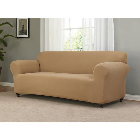 Sanctuary Checkerboard Stretch Sofa Slipcover