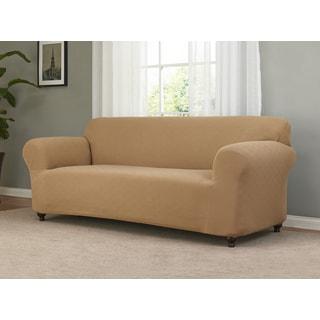 Checkerboard Stretch Sofa Slipcover