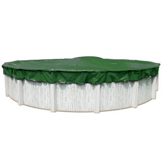 12-Year Above Ground Swimming Pool Winter Cover With Cover Clips