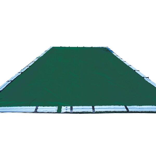 Swimline 12-year In-ground Green Polyethylene Swimming Pool Winter Cover