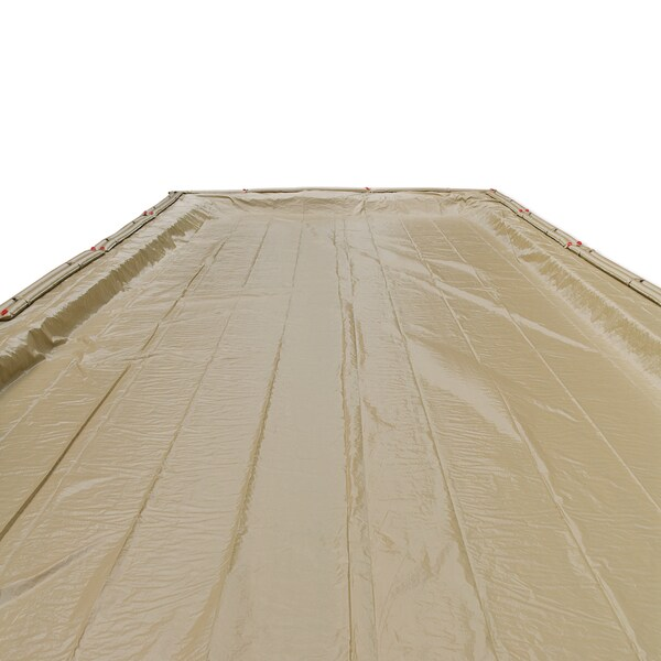 Midwest Canvas 20-year Winter In-ground Swimming Pool Cover
