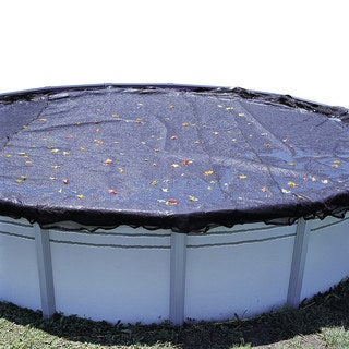 Swimline Above-ground Black Polyethyne Swimming Pool Leaf Cover