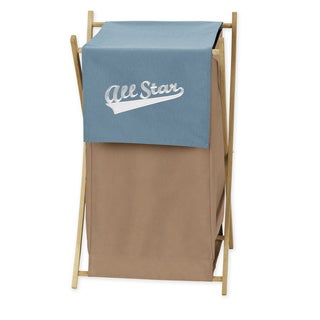 Sweet Jojo Designs All Star Sports Collection Laundry Hamper