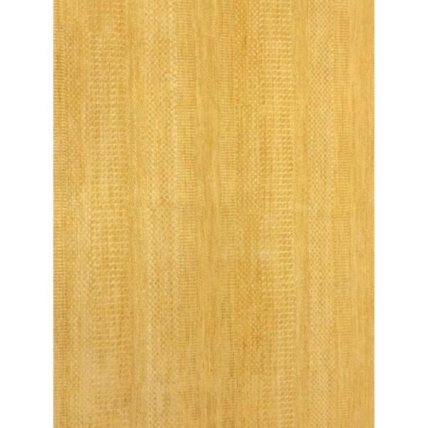 "Noori Rug Fine Grass Kashif Yellow/Gold Rug - 9'0"" x 12'1"""