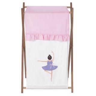 Sweet Jojo Designs Ballerina Collection Laundry Hamper