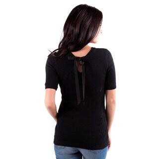 DownEast Basics Women's Tied Up Sweater