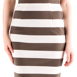 DownEast Basics Women's Ponte Pencil Skirt