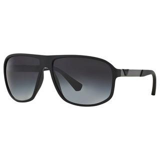 Emporio Armani Men's EA4029 Plastic Square Sunglasses