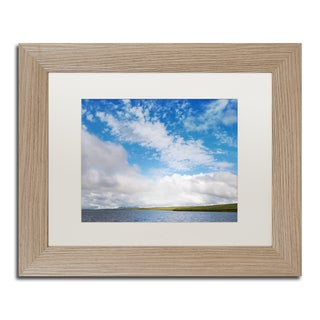 Philippe Sainte-Laudy 'White Lies' Matted Framed Art