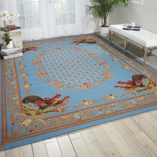 Nourison Bijou Blue Area Rug (9'9 x 13'9)