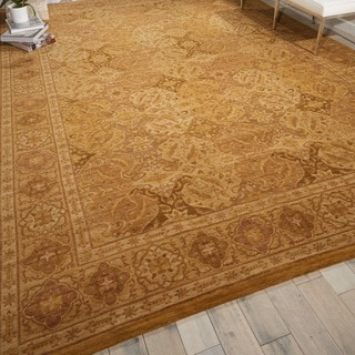 Nourison Milbourne Heights Gold Area Rug (9'9 x 13'9)