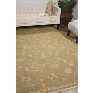 Nourison Nourmak Encore Light Green Area Rug (9'9 x 13'9)