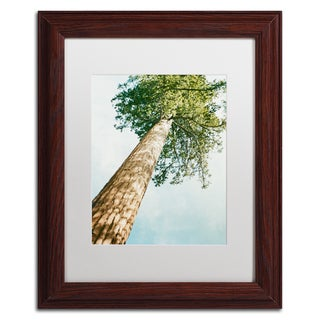 Ariane Moshayedi 'Giant Tree' Matted Framed Art