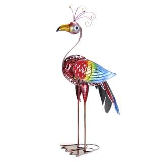 GeekyBeek Rainbow Bird Statue