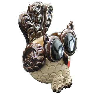 Exhart Pence 6.5-inch Pets Owl Planter