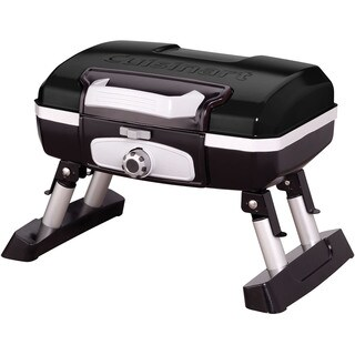 Cuisinart Black Petit Portable Tabletop Outdoor Gas Grill