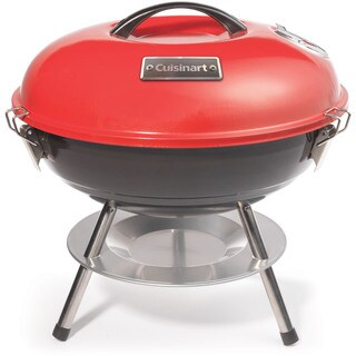 Cuisinart Red 14-Inch Portable Charcoal Grill