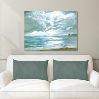 Portfolio Canvas Decor Sandra Francis 'Stormy Weather' Stretched and Wrapped Canvas Print Wall Art