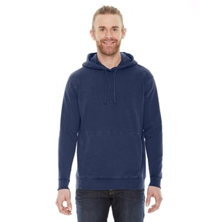Unisex French Terry Blue Cotton Hoodie