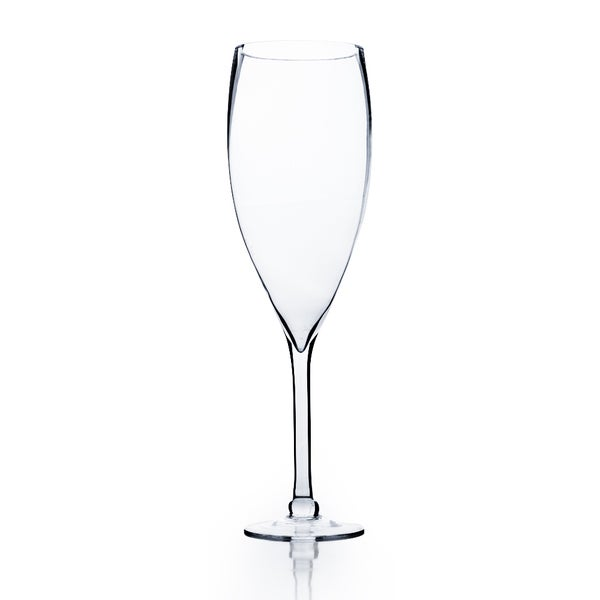 Clear 20-inch Wine Glass Vase
