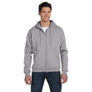 Men's Big and Tall Full-Zip Light Steel Hood Jacket