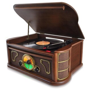 Pyle Vintage Style Bluetooth Turntable Speaker System