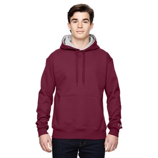Men's Big and Tall Pullover Sport Mar/Athletic Heather Hooded Jacket