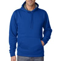 Cool and Dry Men's Big and Tall Sport Royal/Charcoal Hooded Fleece