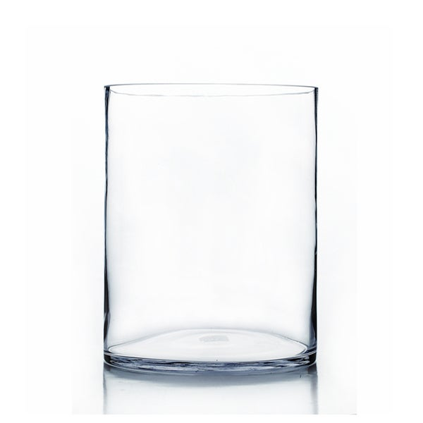 Clear Glass 10 Inch X 16 Inch Cylinder Vase Free Shipping Today