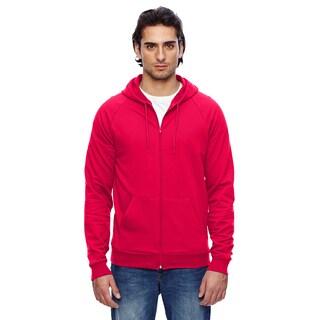 Unisex California Fleece Zip Red Hoodie