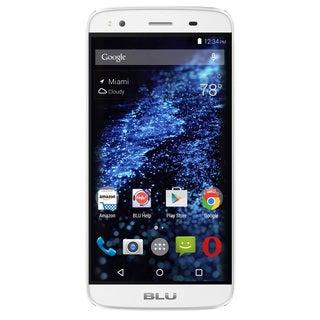 BLU Dash X Plus LTE D0030UU Unlocked GSM 4G LTE Quad-Core Android Phone w/ 8 MP Camera - White