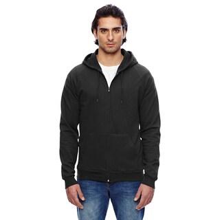 Unisex California Fleece Zip Black Hoodie