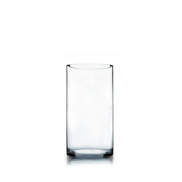 Glass 6 Inch X 12 Inch Cylinder Vase Free Shipping On
