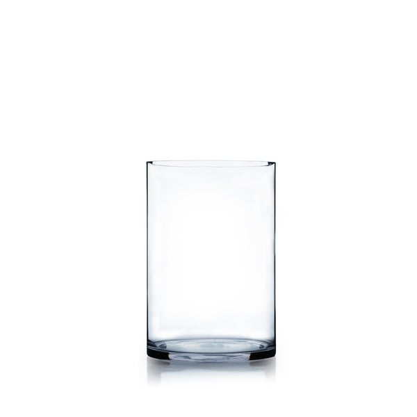 6 Inch X 8 Inch Cylinder Glass Vase Free Shipping On