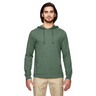 Men's Blended Eco Jersey Pullover Asparagus Hoodie