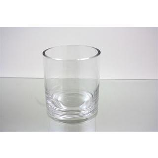 Clear Glass 3-inch x 3-inch Cylinder Vase (Pack of 12)