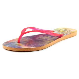 Havaianas Women's 'Slim Tie Dye' Synthetic Sandals