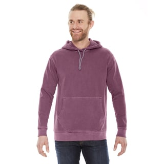 Unisex Big and Tall Nautical Red French Terry Hoodie